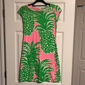 Lilly Pulitzer cotton short sleeve dress